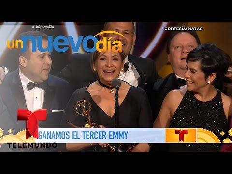 Premios Emmy 2017: ¡Un Nuevo Día lo hizo de nuevo! | Un Nuevo Día | Telemundo