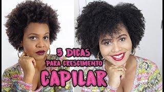 Como fazer o cabelo crescer mais rápido + 5 dicas de crescimento capilar | Eva Lima