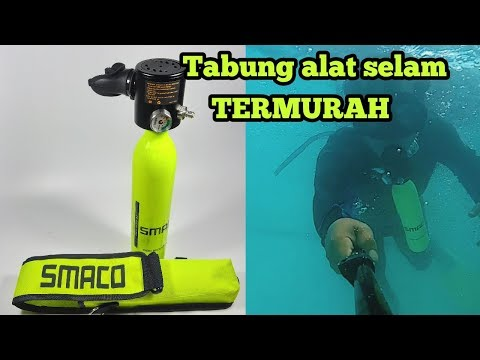 UNBOXING SMACO TABUNG ALAT SELAM Indonesia