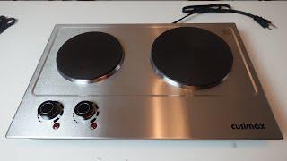 2 Burner Hot Plate Unboxing Re…