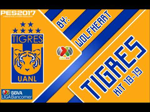 Pes 17 Liga Mx Kit 18 19 Tigres Uanl Descarga Youtube