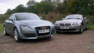 Audi TT vs BMW Z4 - Тест-Драйв