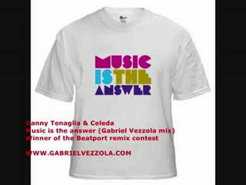 Danny Tenaglia  Music Is The Answer Gabriel Vezzola remix