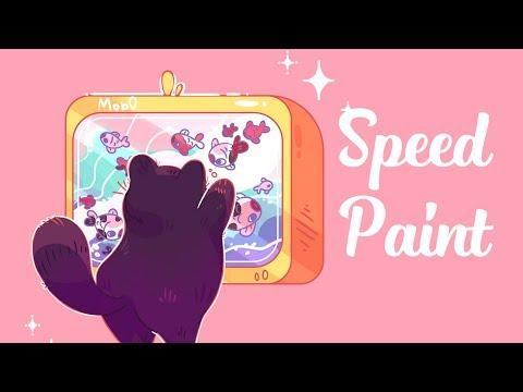 Спидпейнт - Милый котик | Speedpaint - Cute Cat