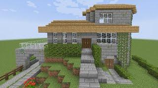 minecraft casa survival normal para