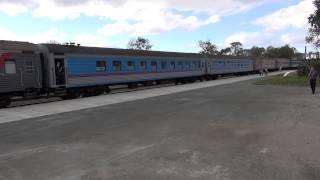 樺太東線(5) ドーリンスク(落合)駅 2014年9月5日