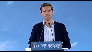 Casado critica la medida de Sánchez de fichar en el trabajo