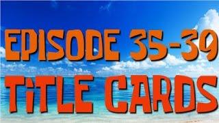 SpongeBob: (Roblox Series) | Episodes 35-39 Title Cards