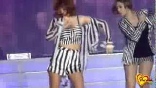 Jiyeon sexy dance and funny moments [Cambodia 140214]