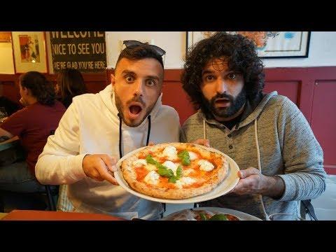 Napoletani provano pizze di Amsterdam