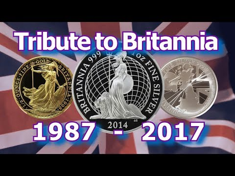 A Tribute to the Britannia Gold and Silver Coins 1987 - 2017