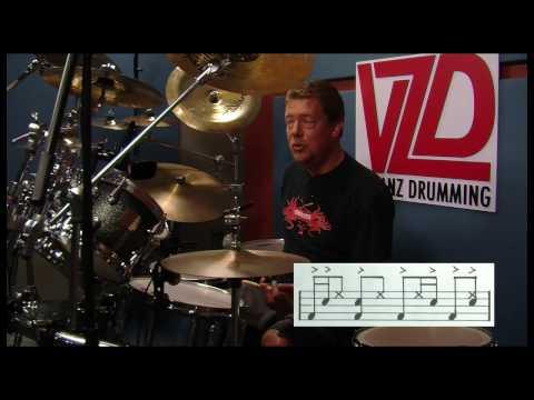 Drum Lesson - Basic Funk Groove - Vanz Drumming