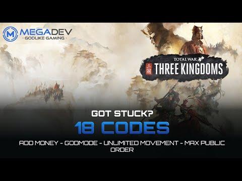 TOTAL WAR: THREE KINGDOMS Cheats: Unlimited Movement, Heal Units, ... | Trainer By MegaDev