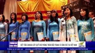 PHÓNG SỰ CỘNG ĐỒNG: Đảng Việt Tân tại Canada gây quỹ cho các nhà đấu tranh dân chủ quốc nội