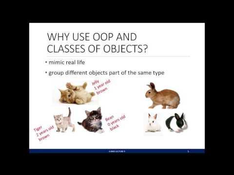 9. Python Classes and Inheritance