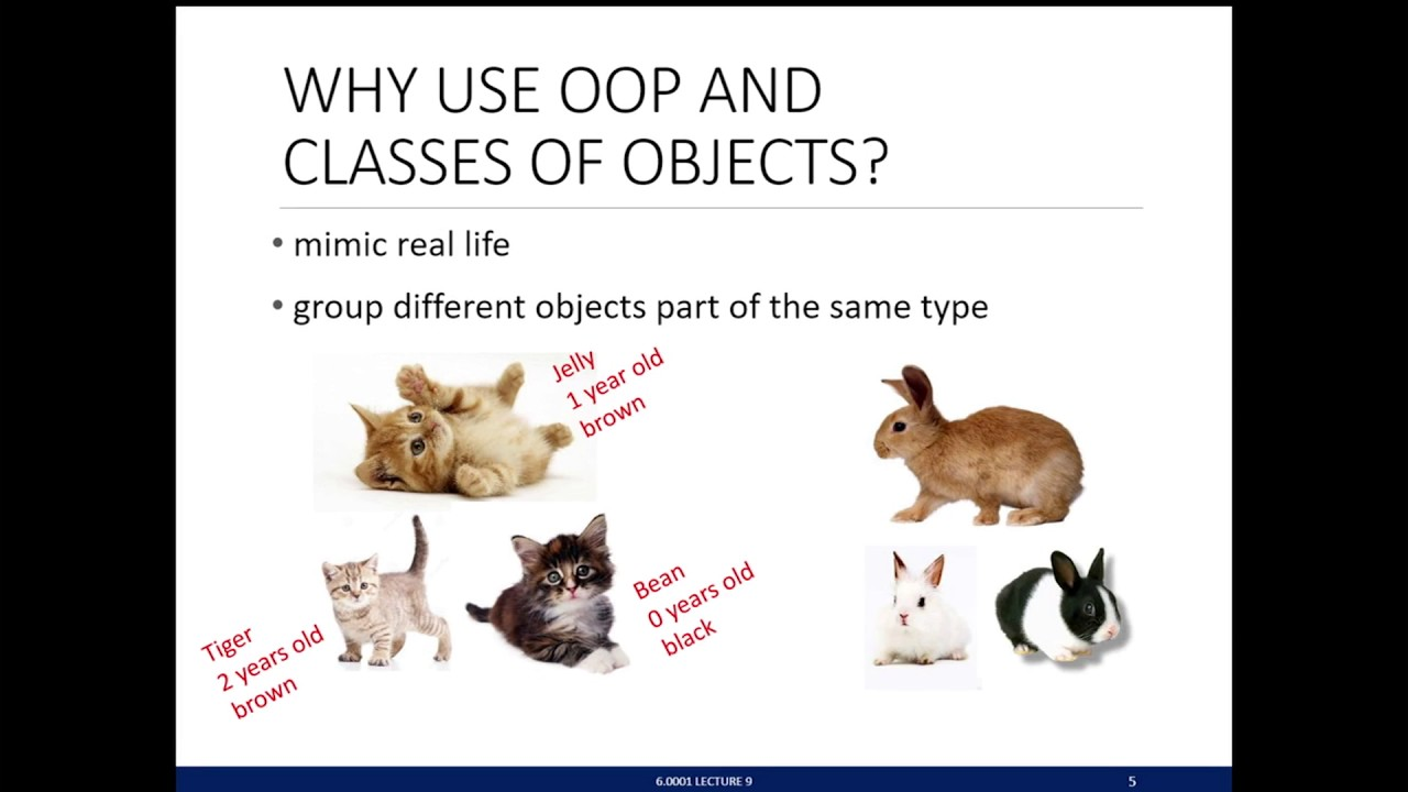 Lecture 9: Python Classes and Inheritance | Lecture Videos