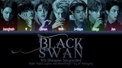 BTS (방탄소년단) - Black Swan (Original Version) (Color Coded Lyrics Han/Rom/Eng)