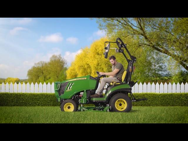 Descubra la versatilidad del tractor compacto 1026R