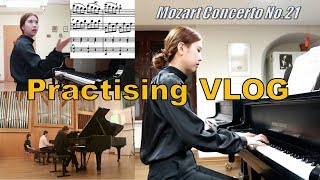 ENG) Come Practise With Us #1 : 모차르트 콘체르토 21번 1악장 연습과정 & 연주