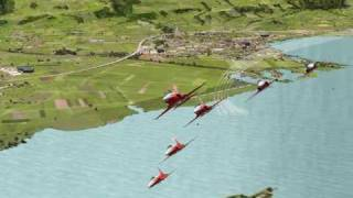 Patrouille Suisse X for FSX and FS2004