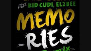 Memories (Remix) - David Guetta Feat. Kid CuDi, L2B (Lyrics Included)