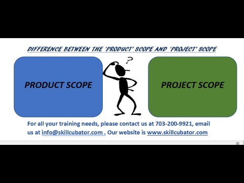 PRODUCT AND PROJECT SCOPE
