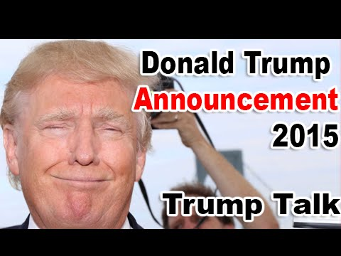 Donald Trump Announcement Speech 2015   Donald trump Full Speech 6 16 15