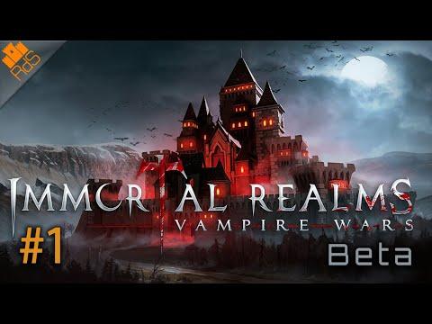 Immortal Realms: Vampire Wars - Gameplay en español - #1 Presentación y tutorial