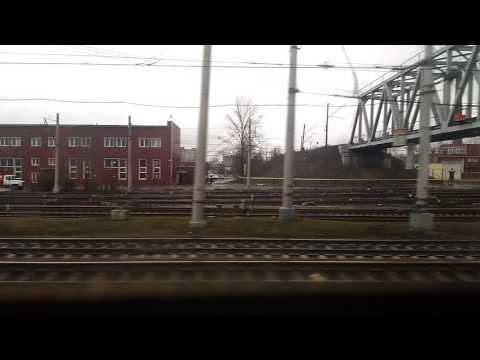 Санкт-Петербург - Колпино из окна электрички