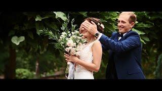 Трогательное свадебное видео Павла и Юлии в г. Киев.