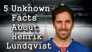 Henrik Lundqvist/Five Facts You Never Knew
