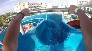 видео Отели Кипра с аквапарком и горками