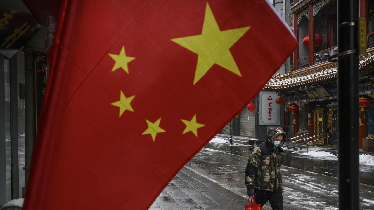 China's behaviour 'has been absolutely shocking'