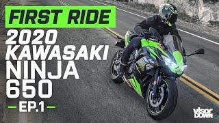 2020 Kawasaki Ninja 650 | First Ride | Visordown.com