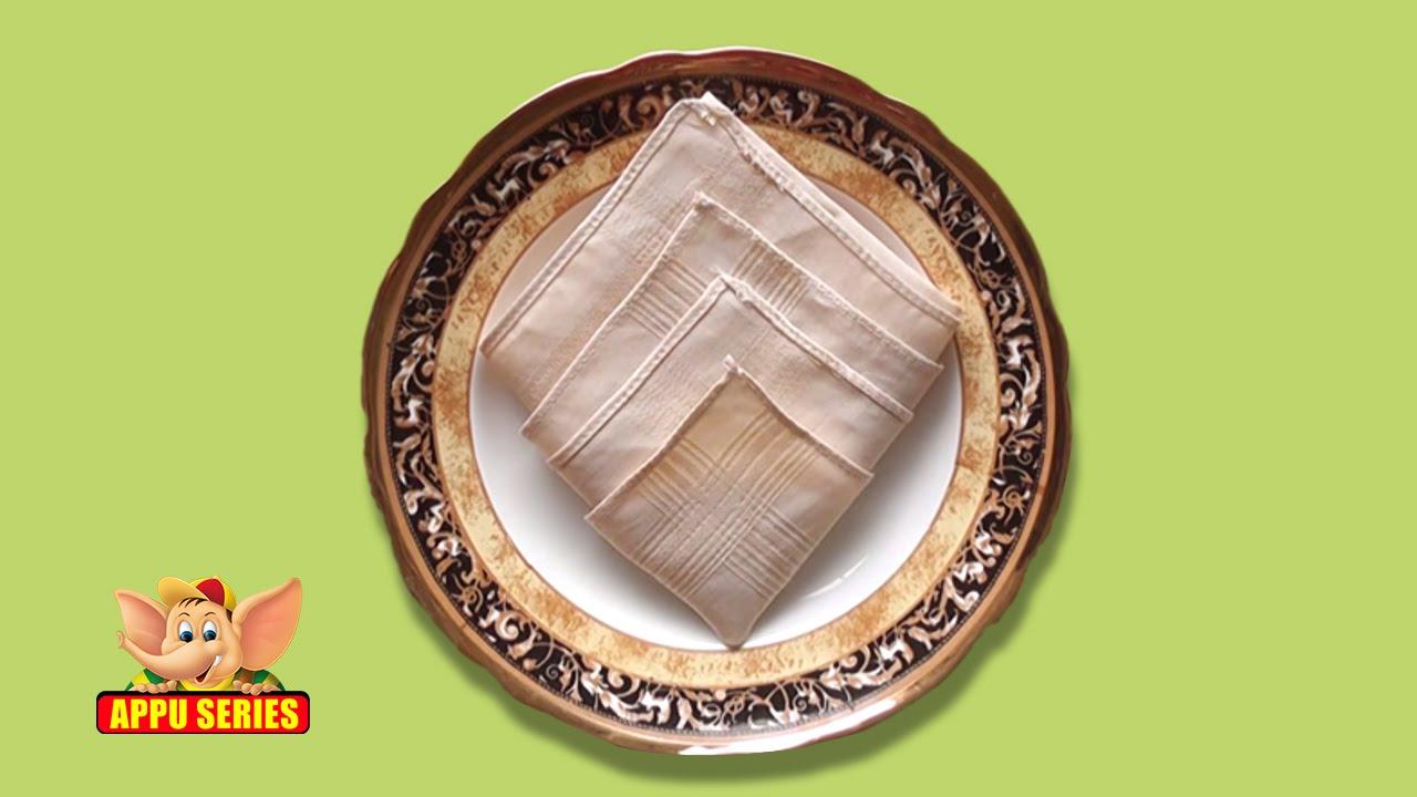 Napkin folding instructions for the pyramid napkin fold - Napkin Folding Instructions For The Pyramid Napkin Fold 43