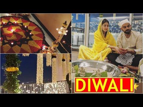 Inside Anushka Sharma and Virat Kohli's Diwali celebrations from their love nest! Mp3