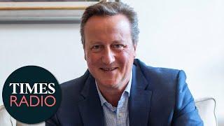 "David Cameron says he sacked Dominic Cummings twice ""but he kept coming back"""