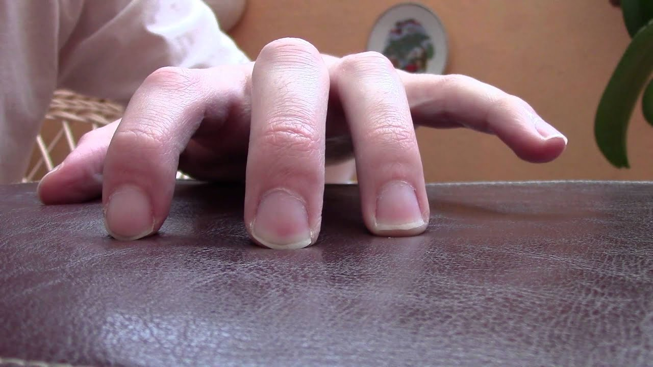 fingers stretching