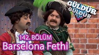 Güldür Güldür Show 142. Bölüm, Barselona Fethi Skeci
