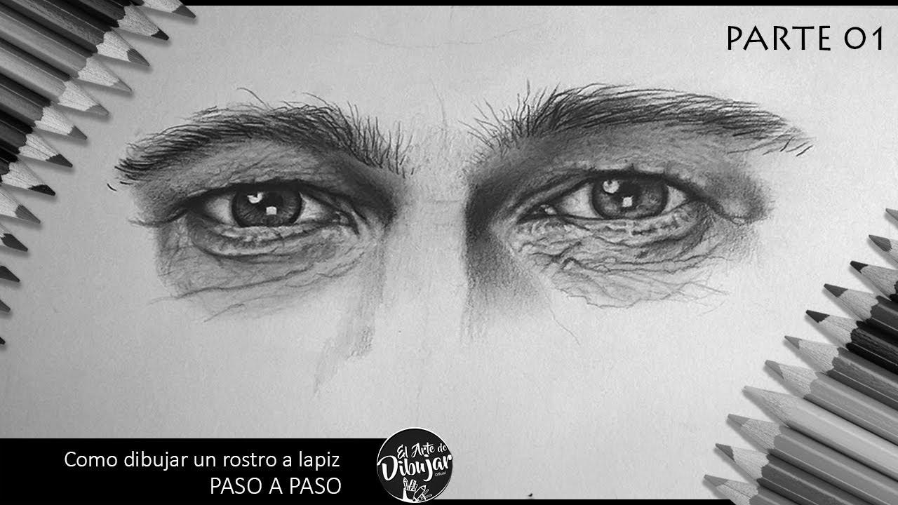 Como Dibujar Un Retrato A Lapiz PASO A PASO I Utilizando 3