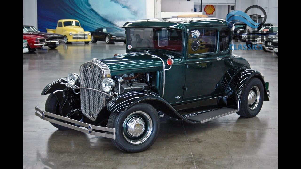 1931 ford model a 5 window coupe youtube for 1931 ford model a 5 window coupe