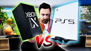 PS5 VS Xbox Series X : le Gros Comparatif ! (rapidité, gameplay,..)