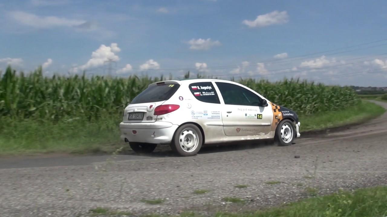 2 Runda RPPRajdowka.pl 2017 – Robert Augustyn / Zbigniew Cieślar – Peugeot 206