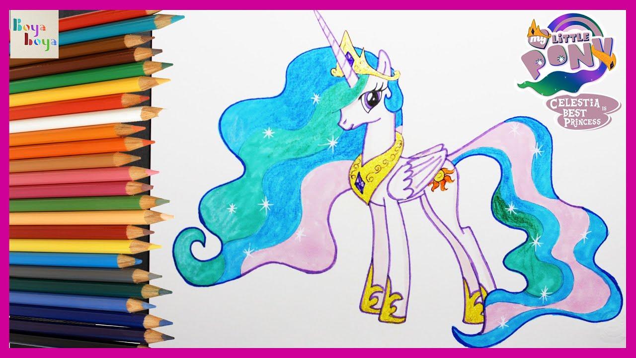 My Little Pony Princess Celestia Nasil Cizilir My Little Pony