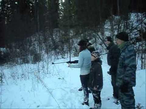 """""""ЗА РОДИНУ"""" тренировочный выход Куртяево 20.11.2011"""