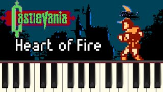 Heart of Fire - Castlevania [Synthesia]
