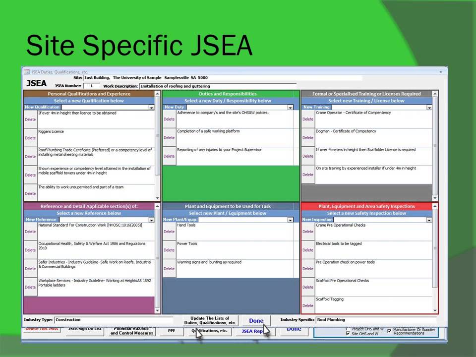 Awesome JSEAsy   Making A New JSEA Using Existing Templates   YouTube  Jsa Form Template