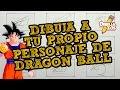 APRENDE A DIBUJAR A TU PROPIO PERSONAJE DE DRAGON BALL   OJOS, NARIZ, OREJAS (PARTE 1)