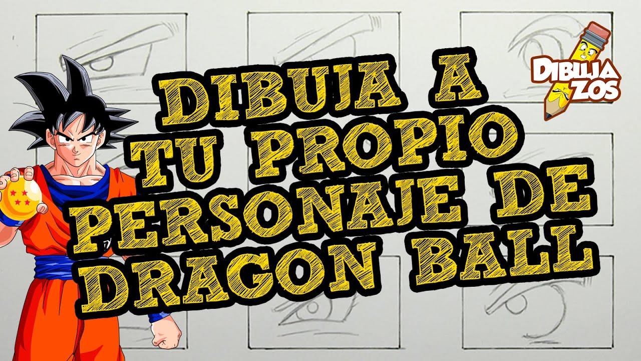 Aprende A Dibujar A Tu Propio Personaje De Dragon Ball Ojos Nariz Orejas Parte 1