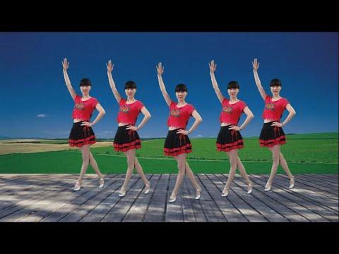 热门精选广场舞《闯码头》节奏欢快,32步简单时尚好看极了!